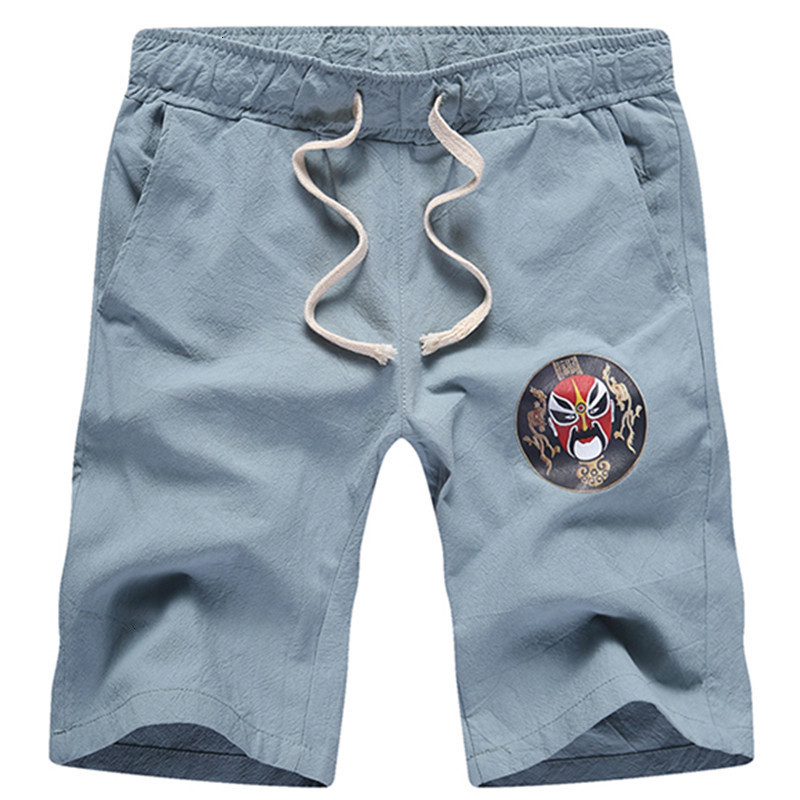 2019 Zomer Mode Nieuwe Mannen Casual Boutique Chinese Stijl Shorts/heren Straight Slim Shorts