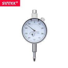 Syntek 0-5mm High Quality Dial Indicator Measuring Tool Metric Dial Test Indicator 0.01mm Dial Gauge Digital 111F05 0 001mm high accuracy metric precision dial indicator dial gauge measuring meter 0 1 mm dial indicator gauge 0 001