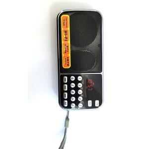 Image 3 - MOOL L 088AM Dual Band ricaricabile portatile Mini Pocket Digital Auto Scan AM FM ricevitore Radio con MP3 Music Audio Player Spea