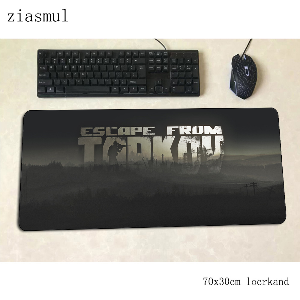 Escape From Tarkov Mouse Pad Gamer Aestheticism 70x30cm Gaming Mousepad Desk Mat Cute Padmouse Games Cartoon Gamer Mats Gamepad