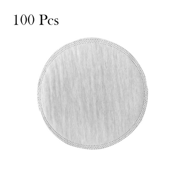 50/100 PCS Mask Gasket Face Mask Filter Pad Activated Carbon Breathing Filters 3
