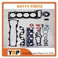 Капитальный ремонт прокладки комплекты двигателя для Toyota 1RZ RZH10 # HIACE 2.0L L4 04111-75012 1997-2006