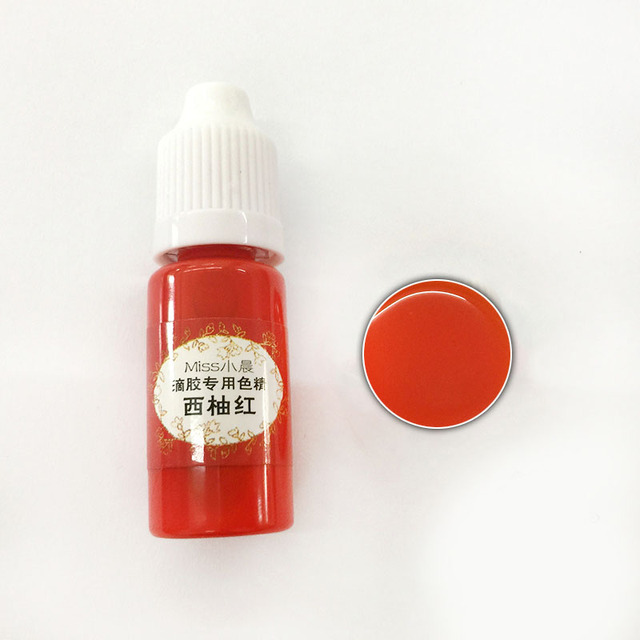 US $1.08 34% OFF|1 Pcs UV Resin Glue Pigment Color Liquid Coloring Dye 10ml  DIY Jewelry Making Crafts EIG88 on AliExpress