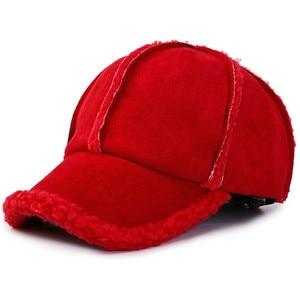 Image 2 - Personalità selvaggia di protezione per le orecchie berretto da baseball ispessimento autunno e l inverno allaperto di viaggio cappello caldo di modo romantico berretto da sci