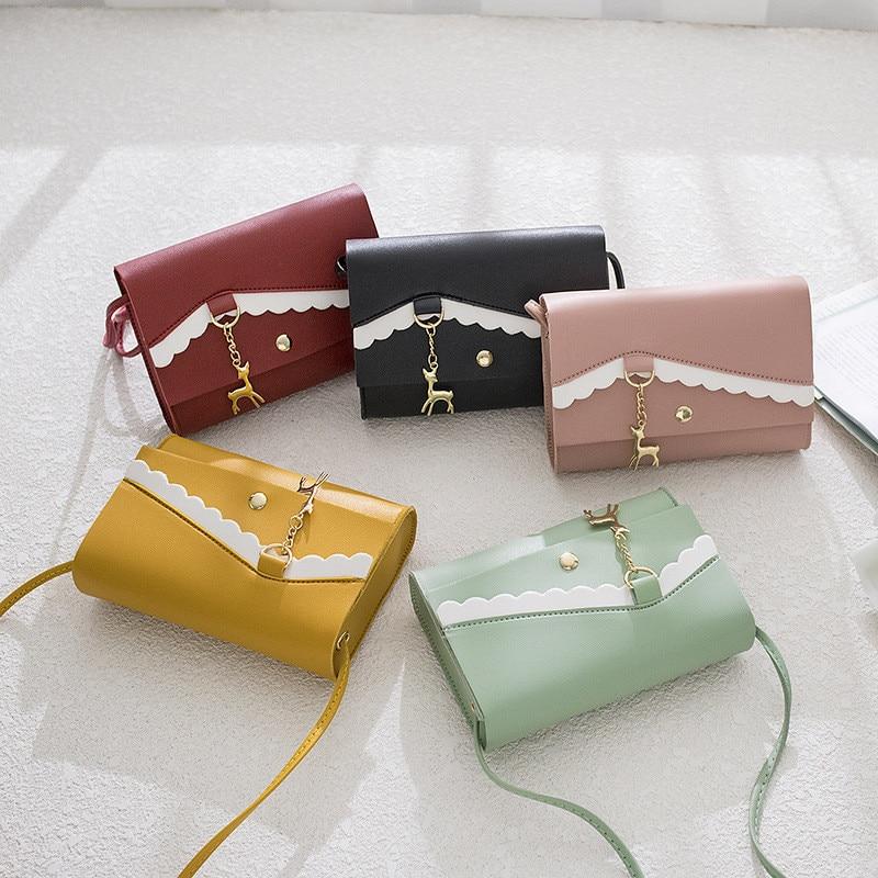 Woman Fshion Bag Designer Bags Famous Brand Women Bags 2019 Lace Fawn Pendant Shoulder Crossbody Bag Mini Shopping Bag