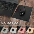 Metal alumínio mouse pad tapete duro suave magia fina dupla face à prova dfast água controle rápido e preciso para o escritório em casa mousepad