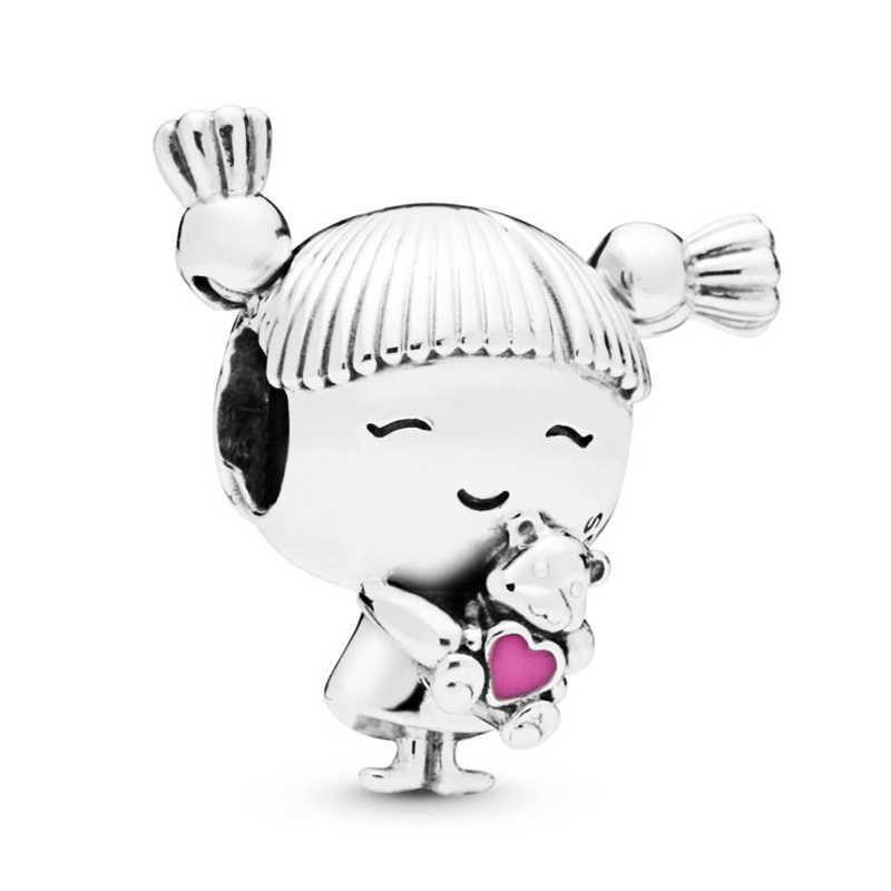 2 Stuks Panda Hot Air Ballon Eenhoorn Bloem Fee Bella Oma Jongen Meisje Kralen Fit Originele Merk Armband Ketting
