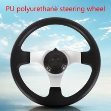 270mm Universal Steering Wheel for Go Kart 110CC Replacement Accessories  PU 6XDB