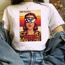 Странные вещи 3, женская футболка, забавная женская футболка, одиннадцать футболок, модная футболка ulzzang с коротким рукавом, женская футболк...