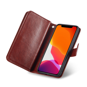 Image 5 - Haissky Detachable Flip Leather Case for iPhone 11 11 Pro Max X Xs Max XR SE 2020 8 7 6 6S Plus 5 5S Magnetic Wallet Phone Case