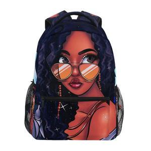 ALAZA Children School Bags Art