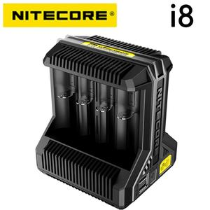 Image 1 - Nitecore i8 Intelligent Charger 8 Slots Total 4A Output Smart Charger for IMR18650 16340 10440 AA AAA 14500 26650 and USB Device