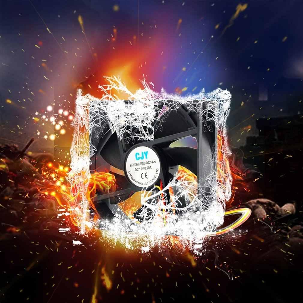 1pc 12V 3-Pin 9cm 90x25mm 90mm CPU Kühlkörper Kühler Fan DC Lüfter 65 CFM Hohe Qualität Schnelles Freies