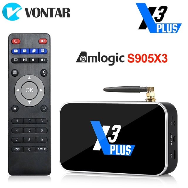 2020 Ugoos X3 PRO TV Box Android 9.0 4GB RAM 32GB X3 Plus 64GB DDR4 Amlogic S905X3 WiFi 1000M 4K X3 Cube 2GB 16GB Set Top TVBox 1
