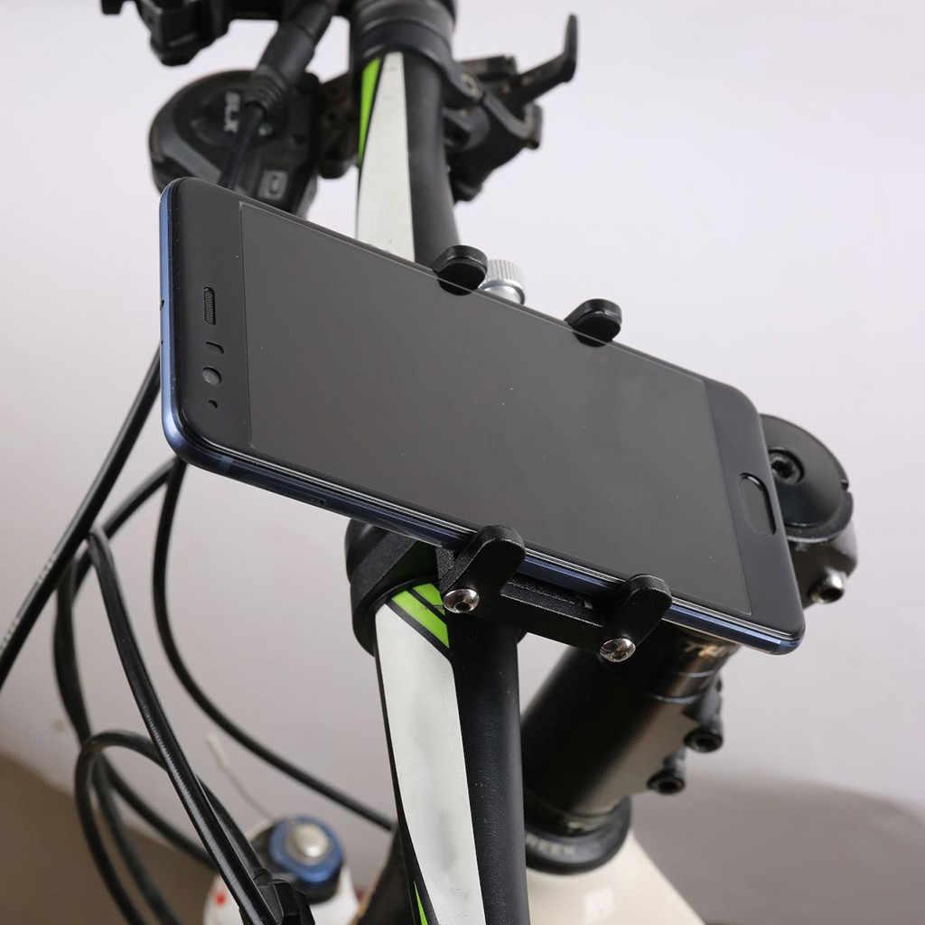 Binmer LBicycle حامل هاتف المحمول سبائك الألومنيوم الثابتة والملاحة بطارية سيارة كهربائية دراجة نارية حامل هاتف المحمول الدراجات