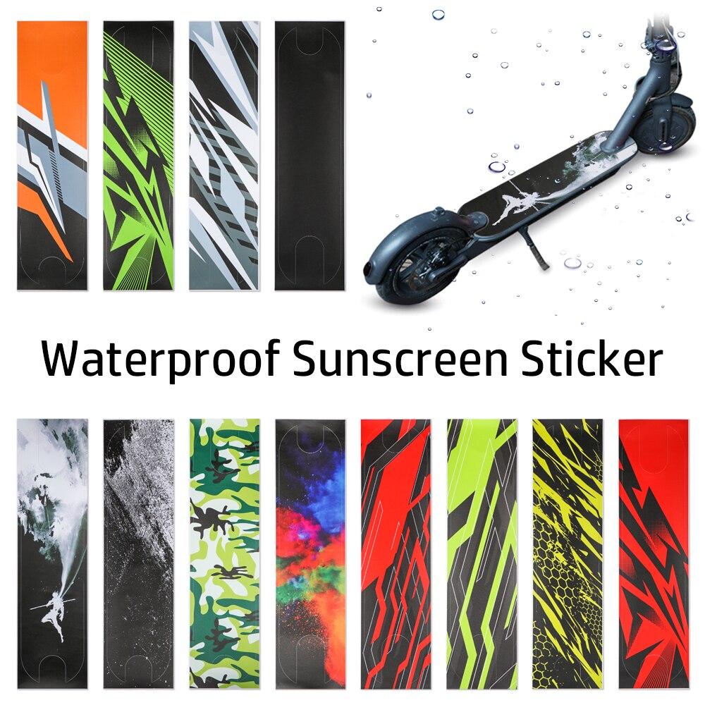 Защитные наклейки для электрического скутера, скейтборда, педали, наждачная бумага, Нескользящие наклейки для Xiaomi Mijia M365 M365Pro