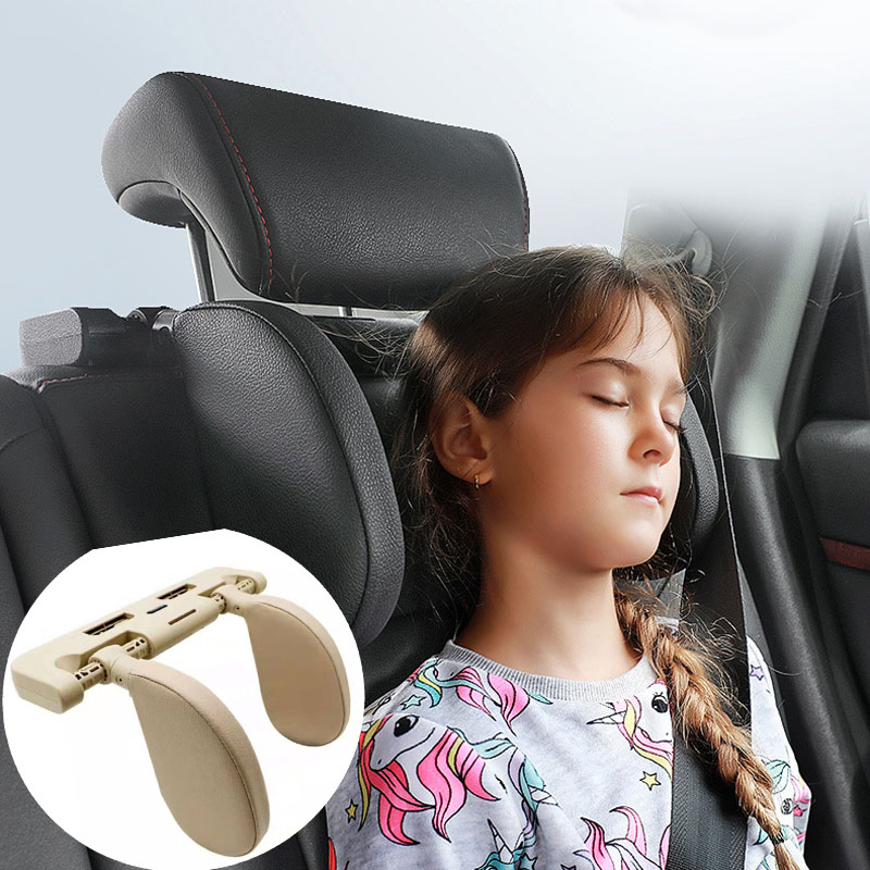 Car seat headrest sleep side head support for Peugeot 206 207 208 301 307 308 407 2008 3008 4008|Neck Pillow| |  - title=