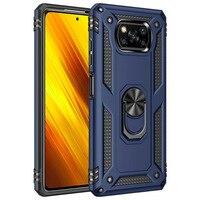 Pocophone X3 Pro Poco X3, funda de protección a prueba de golpes, funda de teléfono para Xiaomi anticaída, soporte magnético resistente a la moda, NFC