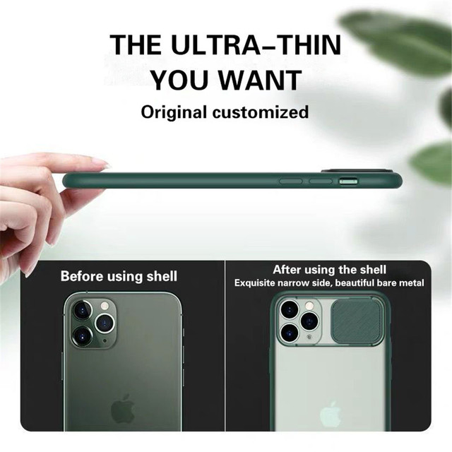 Camera Lens Protective Case For iPhone 11 Pro MAX SE 2020 Soft TPU Cover For iPhone 8 7 6 6S Plus X XS XR 12 Mini Pro Max Cases 4