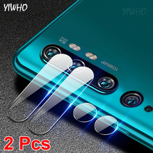 2 Pcs Camera Len Glass for Xiaomi Note 10 Pro Protective Film On Xiomi Mi 10 Lite Youth Xioami Mi10 10Pro Safety Tempered Glas