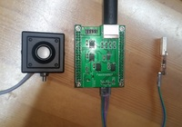 Four Quadrant Photodetector / Spot Position Detector / Two dimensional Photodetector Module / with Source Code