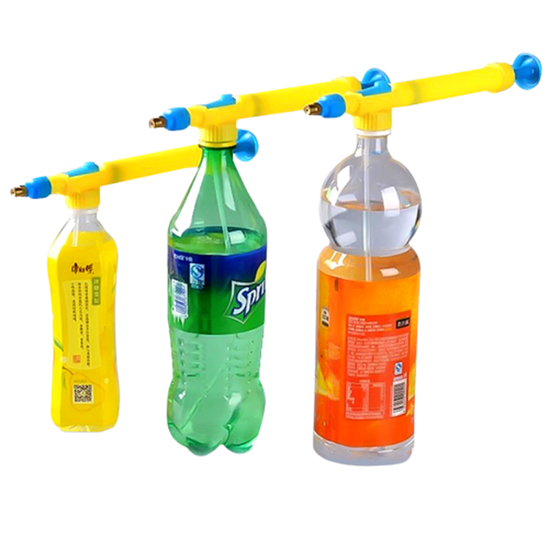 Space Water Guns Kids Toys Beverage Bottle Pistola Interface Plastic Trolley Guns Silah Sprayer Head Water Pressure Kids Toys