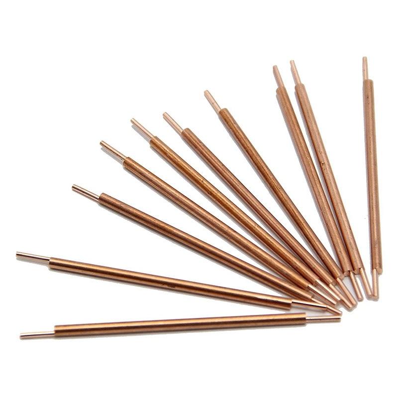 Double Head Copper Spot Welding Rods Electrodes for Spot Welder, Used for Spot Welder Machine Pulse Spot Welder 10 Pcs фото
