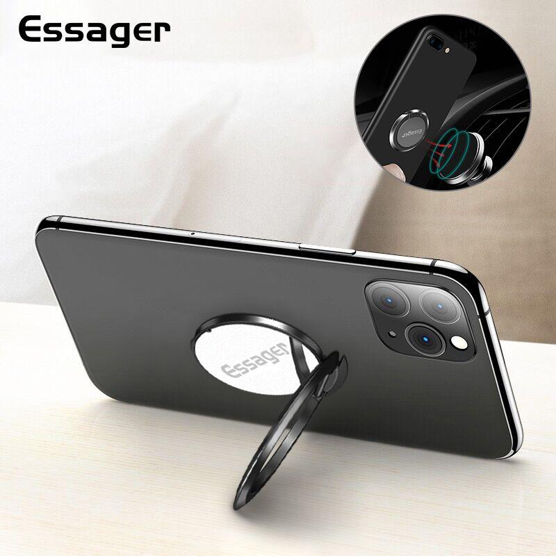 Essager кольцо держатель для iPhone Xiaomi Mi 9 Redmi Note 8 Кольцо для сотового телефона Подставка для смартфона поддержка магнитный автомобильный держате...