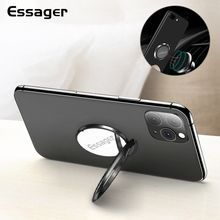 Essager Finger Ring Holder For iPhone Xiaomi Mi 9 Redmi Note 8 Cell Phone Ring Stand For Smartphone Support Magnetic Car Holder