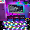 colorRGB LED Strip Lights WS2811 Dreamcolor led strip, Rainbow effect ,Chasing Multicolor Effect,Remote control,Bluetooth