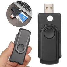 Reader USB 1PC Usb-3.0 Sim-Connector-Adapter Id-Bank EMV Smart-Card Tf-Memory Citizen
