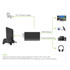 Image 5 - PS2 ために HDMI ビデオ変換アダプタ 3.5 ミリメートルオーディオ出力ハイビジョンミニゲームプレーヤー Hdmi 高品質