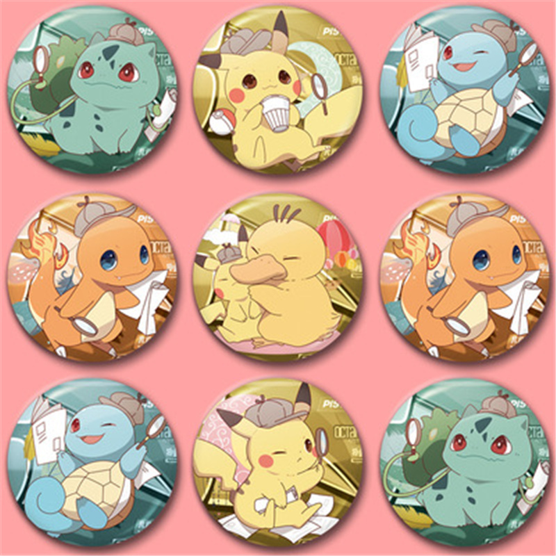 The new Pokémon Pikachu, the Fire Dragon, the Turtle, and other personality medals to party with on your birthday