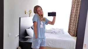 Image 3 - JRMISSLI Conjuntos de pijama holgados para mujer, Conjunto de pijama con estampado bonito, de algodón, conjuntos de talla grande, ropa de dormir, conjuntos de lencería sensual