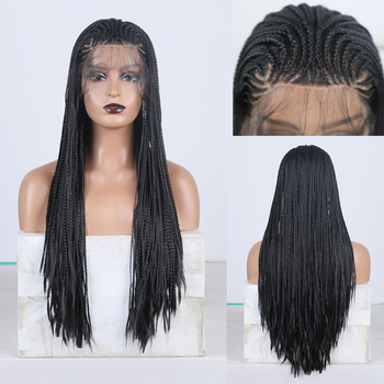 GOLDENWIGS Middle Part Braided Box Braids Wig Long Hair Synthetic Lace Front Wigs for Women Black Hair Heat Resistant Lace WigGOLDENWIGS Middle Part Braided Box Braids Wig Long Hair Synthetic Lace Front Wigs for Women Black Hair Heat Resistant Lace Wigbox braids wigs,lace front braided wigs,synthetic lace front braided wigs
