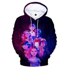 hot Stranger Things 3 Hoodies in Mens Sweatshirts boys/girls Harajuku Boy/Girls Autumn high quality cool clothes