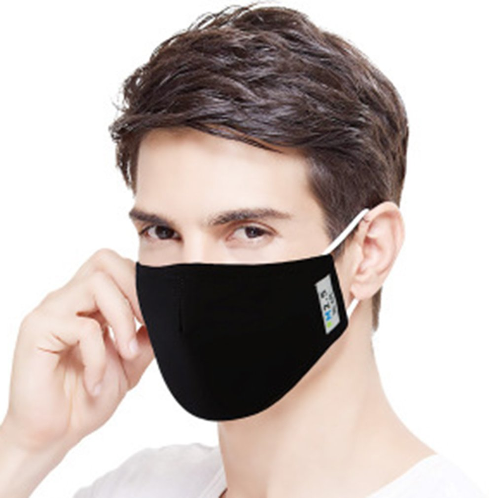 PM2.5 Filter Face Anti Haze Mouth Masks Breathing Insert Protective Anti-Formaldehyde Anti-Smog Activated Carbon Sunscreen Mask