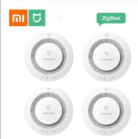 Alarma de incendio Xiaomi Mijia Honeywell, Sensor de humo, alarma de seguridad inteligente por Control remoto con aplicación Mi Home Digitalizador de pantalla táctil de repuesto para Honeywell Dolphin 60S
