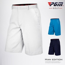 PGM Men's Golf Shorts Summer Breathable Shorts Man High Elastic Fit-drying Short Pants Comfortable Golf Clothing XXS-XXXL
