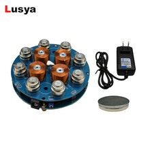 DIY magnetic levitation module Maglev Furnishing Articles DIY Kit Magnetic Suspension Digital Module with LED lamp weight 300g
