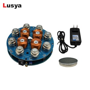 Image 1 - DIY magnetic levitation module Maglev Furnishing Articles DIY Kit Magnetic Suspension Digital Module with LED lamp weight 300g