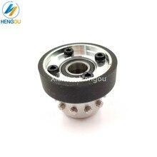 Peças da máquina de impressão do rolo de condução do eixo cpl xl75 cd74 cd102 cx102 xl105 xl106 da polia da roda da sucção f4.614.555 f4.614.556s