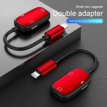 3 в 1 аудио адаптер зарядки наушников к кабелю для подключения