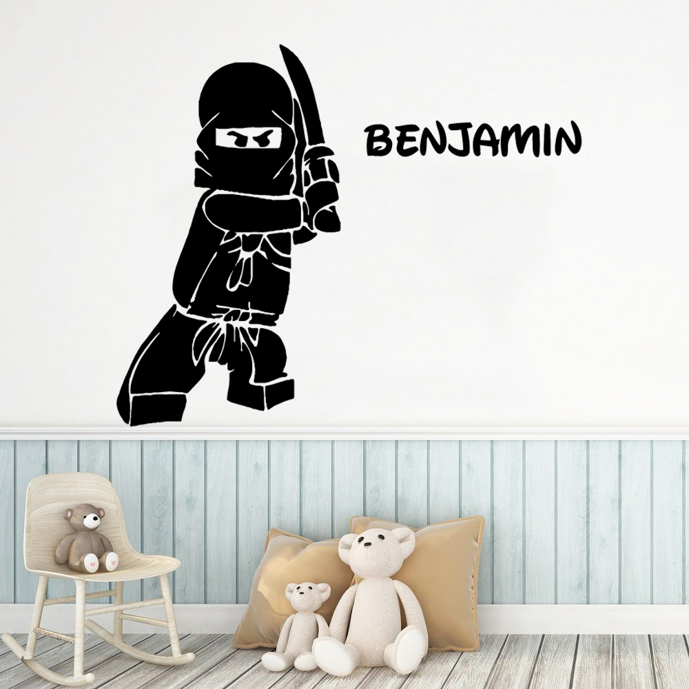 Lego Ninjago Vinilo Etiquetas De Pared Wall Decals