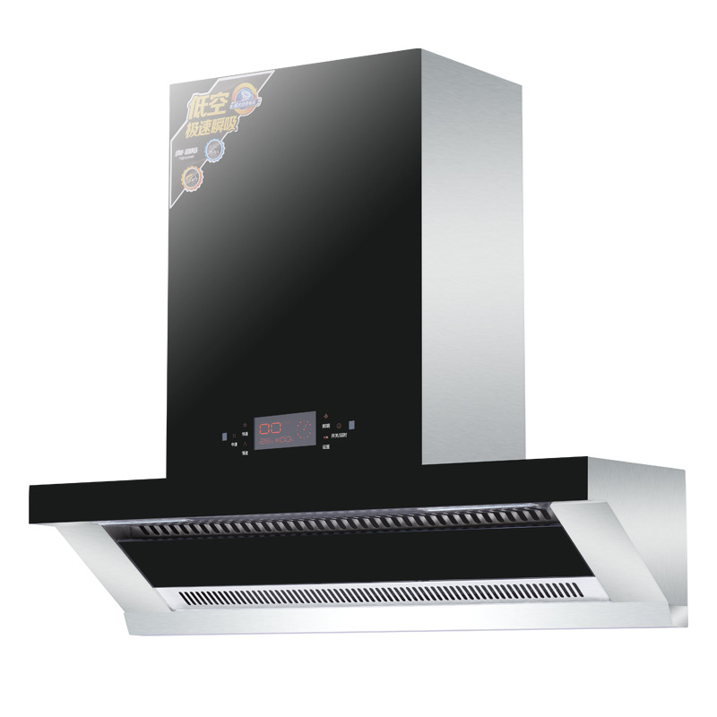 European-style Range Hood Top Suction Side Suction Type Home Touch Range Hood Instantaneous Heat Absorption Degreasing