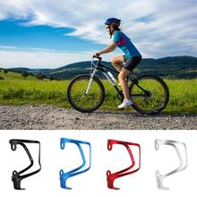 MTB Bicycle Water Bottle Holder Aluminum Alloy Mountain Bike Bottle Can Cage Bracket Cycling Drink Water Cup Rack Accessories bicycle black lightweight water bottle cage holder new cup rack riding supplies