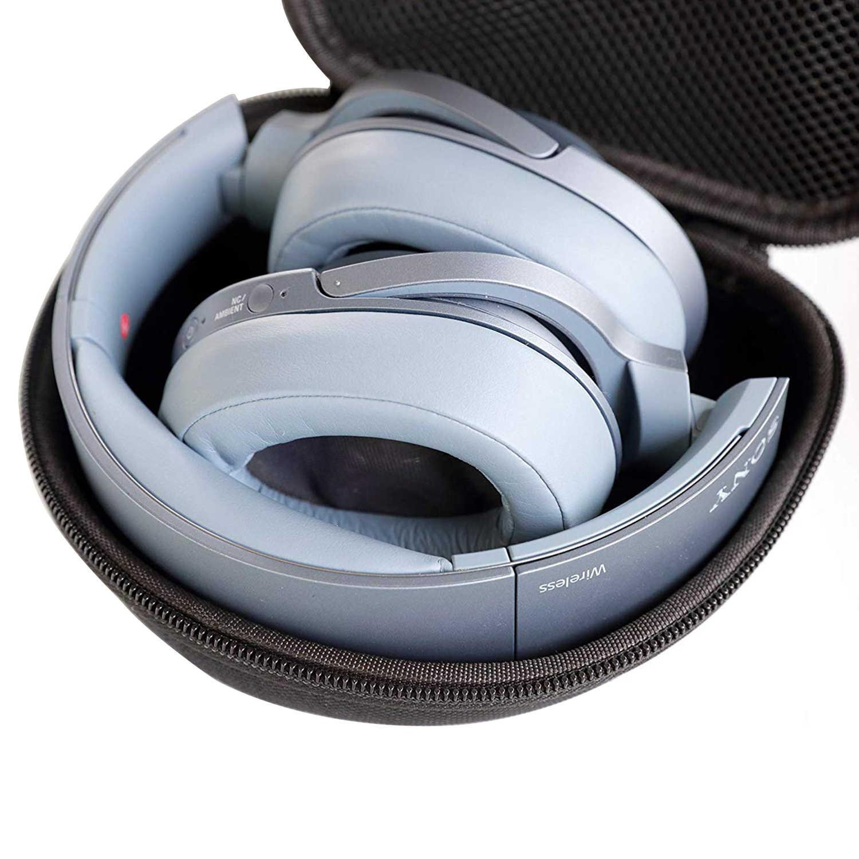 Tai Nghe Bluetooth EVA Cứng Nhám Giành Cho SONY WH-XB900N 1000XM3 Game Tai Nghe Túi Mang Theo Hộp Lưu Trữ Di Động Bao