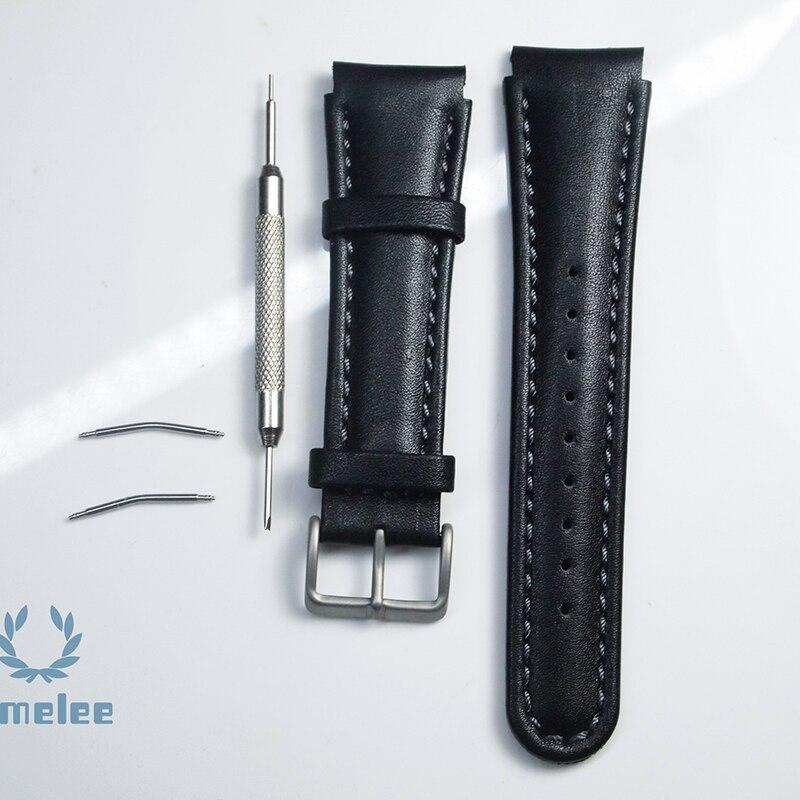 bracelet cuir suunto xlander
