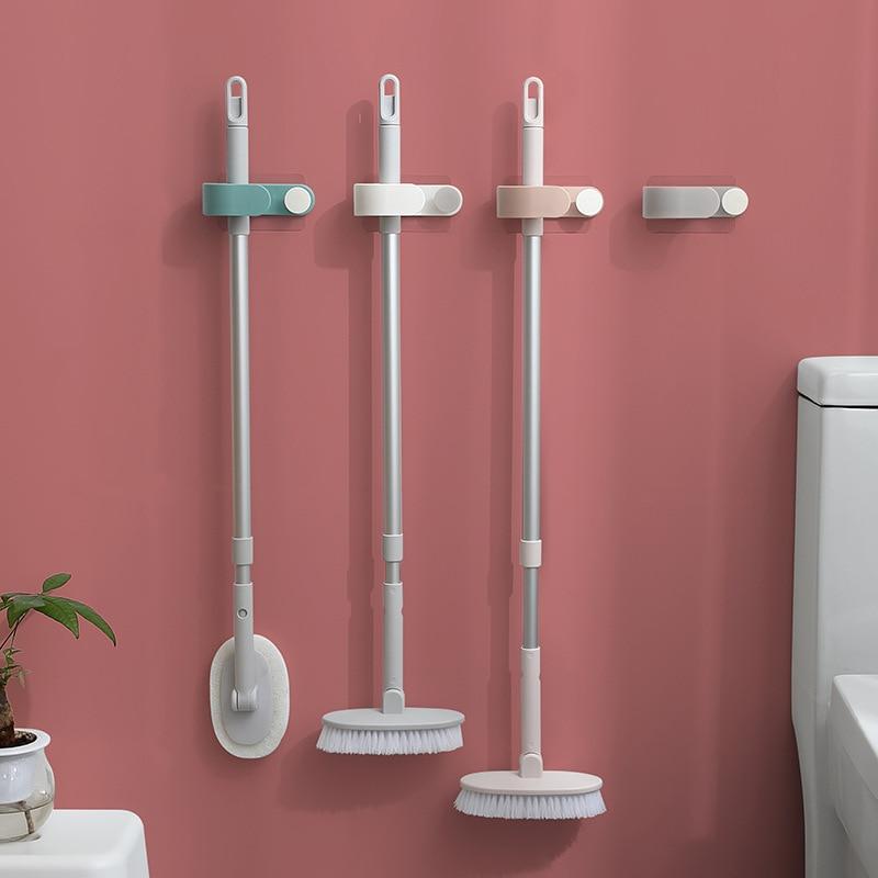 Wall Mounted Broom Holder Hook Racks For Kitchen And Bathroom Organizer Tool
