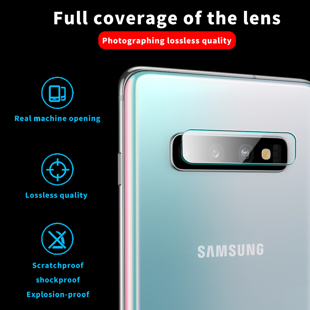 Camera Glass For Samsung Galaxy S10 Plus Note 10 Plus S10e S20+ Glass Protective Lens Glass Camera Protector For Samsung Note10+
